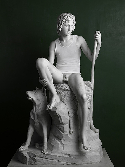 Elmgreen & Dragset: Shepherd Boy (Tank Top), 2009