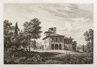 Villa di Rafaello presso Roma