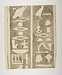 Hieroglyfindskrift, sjette brudstykke ovenfra