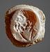 Buste af Herakles. Hellenistisk-romersk paste
