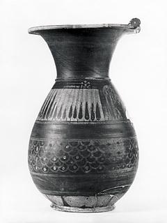 Olpe. Etrusko-korinthisk