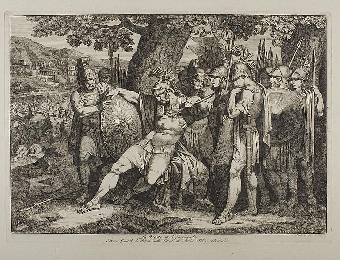 La Morte di Epaminonda (Epaminondas død)