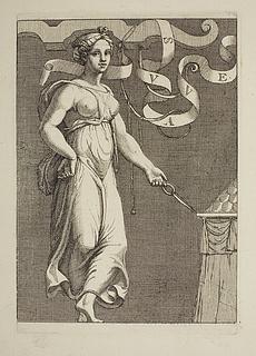 Dansende ung kvinde