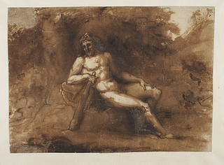 Siddende Herkules