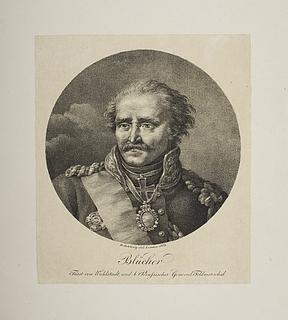Den preussiske general-feltmarschal Blücher