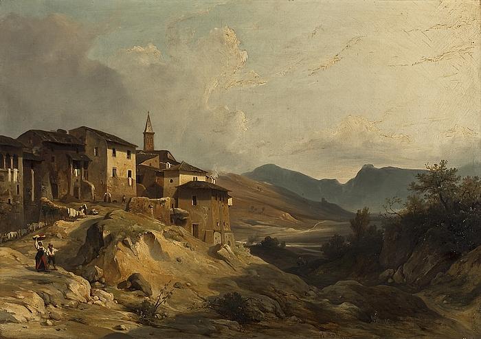 Italiensk landskab