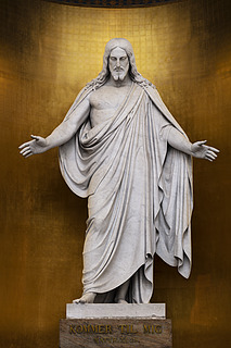 Kristus, marmor, Vor Frue Kirkes alter