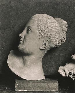 Hovedet af Jeanina Emilie Stampe som Psyche