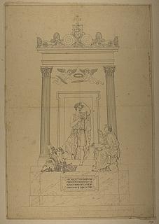 Monument over Eugène de Beauharnais, hertug of Leuchtenberg, første forslag