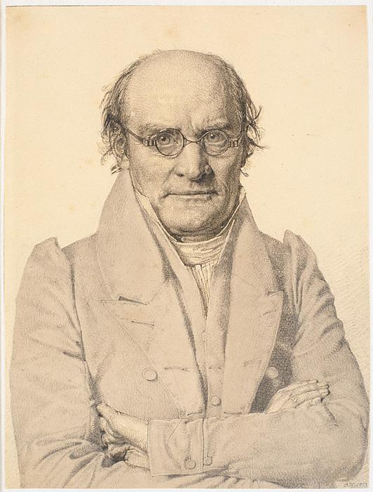 Christen Købke: Frederik Christian Sibbern, 1833