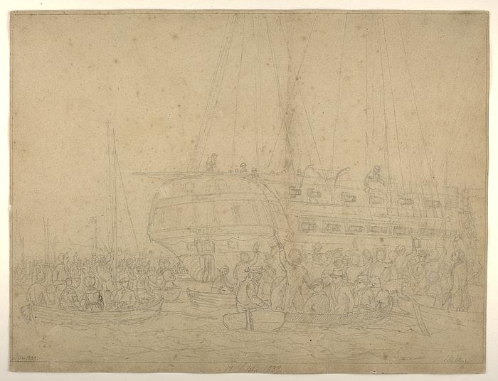 Thorvaldsens hjemkomst 17. september 1838