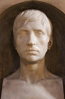 Emil Wolff: Gravmæle for Rudolf Schadow, S. Andrea delle Fratte, Rom