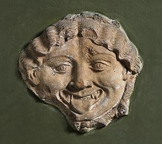Campanarelief med Medusamaske. Romersk
