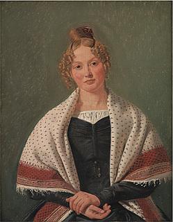 Constantin Hansen. Hanne Wanscher.
