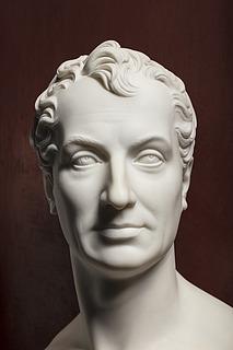 Thorvaldsen: Clemens Metternich, 1819, marmor, 61 cm, foto Jakob Faurvig