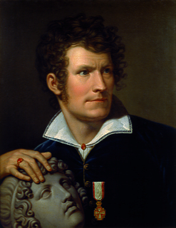 Portrait of Thorvaldsen