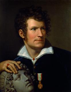 Rudolph Suhrlandt, Portræt af Thorvaldsen, 1810, Thorvaldsens Museum, B 428