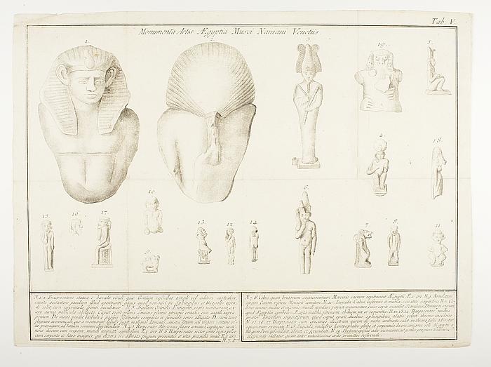 Monumenta Artis Ægyptiæ in Musæo Naniano Veneteiis Tab.V