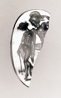Achilleus og Penthesileia. Romersk republikansk ringsten