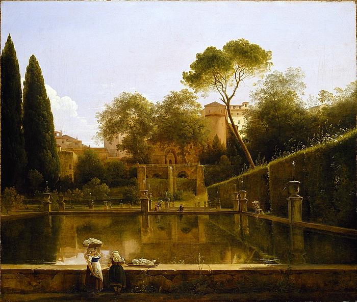 Parti af Villa d'Estes have i Tivoli