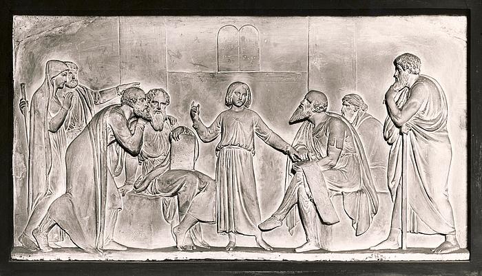 Den tolvårige Kristus i templet