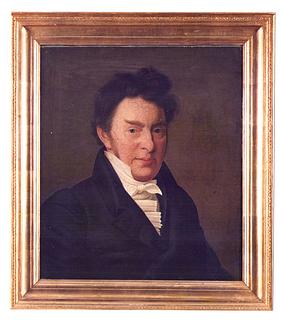 C. Hornemann, Portræt af R. B. Bojesen