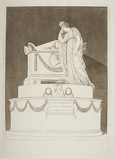 Monument over Vittorio Alfieri