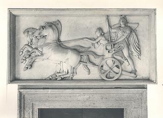 Alexander den Store på sin vogn, Palazzo Giraud-Torlonia, Rom; foto 1929.