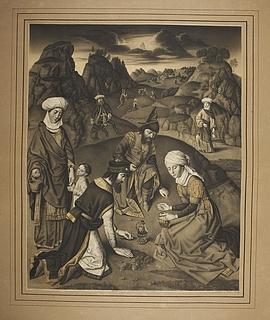 Israelitterne samler manna
