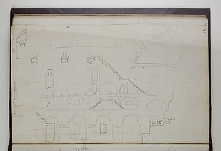 Colosseum (?), snit og opstalt