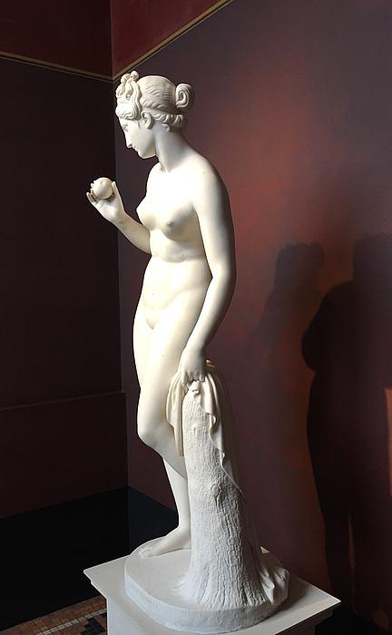 Venus med æblet, den græske profil