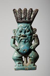 Statuette af Bes. Ægyptisk, Sentiden