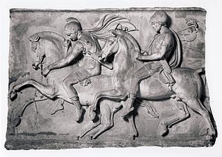 To ryttere i Alexander den Stores følge