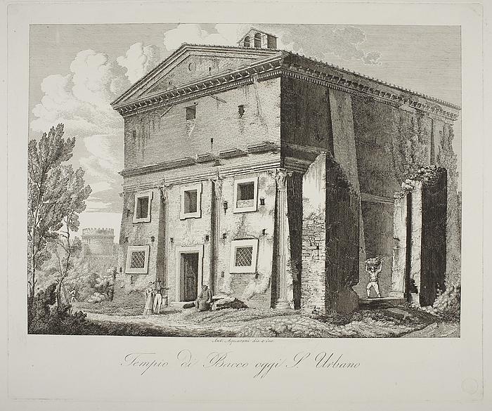 Tempio di Bacco oggi S. Urbano ( Bacchus' tempel nu S Urbano )