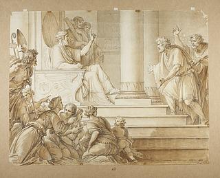 Moses træder frem for Farao