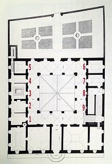 Palazzo Giraud-Torlonia, plan