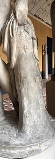 Thorvaldsen, Venus med æblet, gips, Thorvaldsens Museum, beskåret