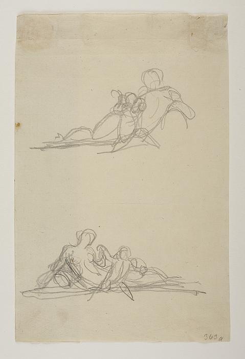 En bacchantinde leger med en lille faun