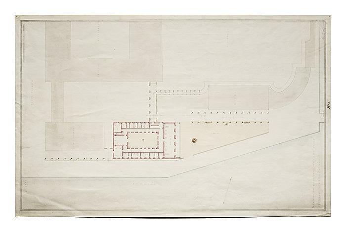 Thorvaldsens Museum, situationsplan