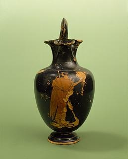 Oinochoe med Athene. Græsk