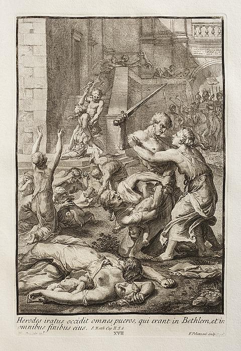Herodes iratus occidit omnes pueros (Barnemordet i Betlehem)