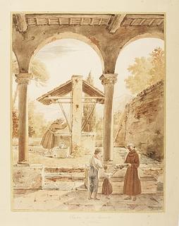 Klostret i Narni i Sabinerbjergene