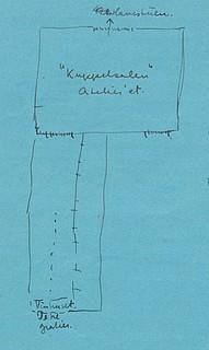 Sass, tegning af Skovgaard, 1946