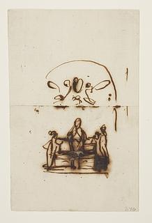 Bertel Thorvaldsen: Monument over Pius 7. (Copyright tilhører Thorvaldsens Museum)