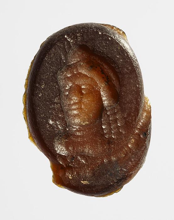 Buste af Isis. Romersk republikansk paste
