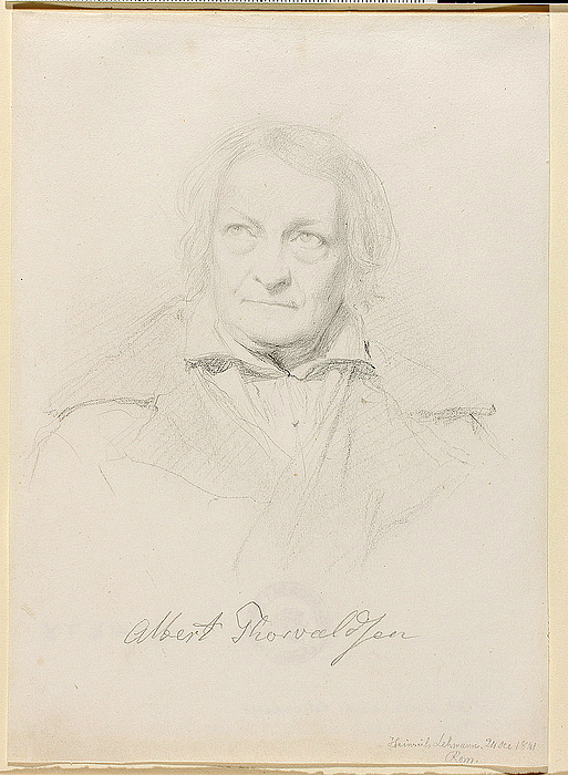 Heinrich Lehmann: Bertel Thorvaldsen