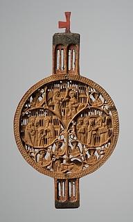 Portativ alter med nygræske religiøse motiver