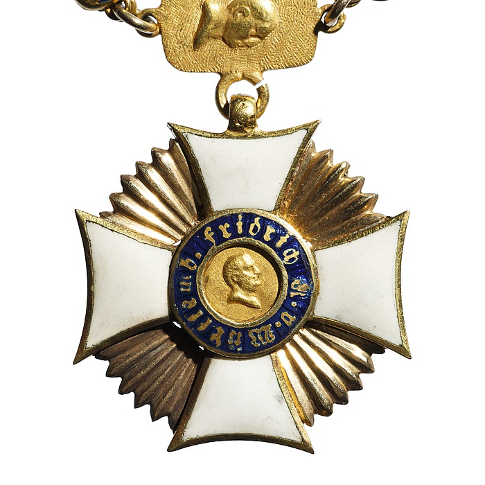 Miniaturekors til den württembergske Friedrichs-orden
