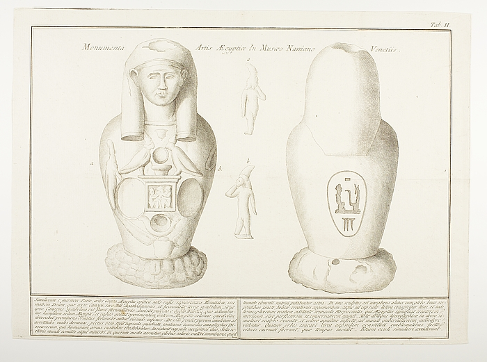 Monumenta Artis Ægyptiæ in Musæo Naniano Veneteiis Tab.II