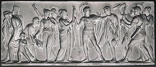 Alexander den Store sætter Persepolis i brand